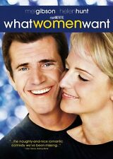 What Women Want  DVD Mel Gibson, Helen Hunt, Marisa Tomei, Alan Alda, Ashley Joh