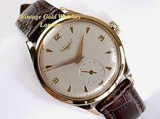 LONGINES MANUAL, 18K PINK GOLD 1956 35MM GENTS VINTAGE DRESS WATCH - STUNNING!