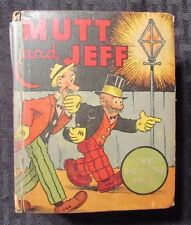 1936 Big Little Book #1113 MUTT AND JEFF by Bud Fisher GD-