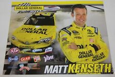 "2014 Matt Kenseth Dollar General ""2nd issued"" Toyota Camry NASCAR postcard"