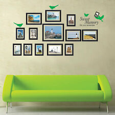 Huge Sea View Picture Photo Frames Wall Stickers Removable Vinyl Art Decal Paper