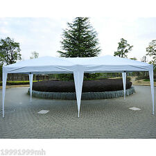 10'x 20' Outdoor Party Tent Patio Gazebo Shelter Yard Deck Pop Up Canopy White