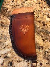 Custom Leather Sheath Buck 110 Others  Brown   *NO KNIFE*
