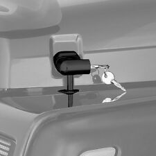 1997-2006 Jeep Wrangler & Unlimited Hood Lock Locking Latch Set Black Set