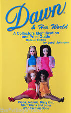 Dawn & Her World Fashion Doll ID Book FULL COLOR Topper Flower Fantasy Jessica