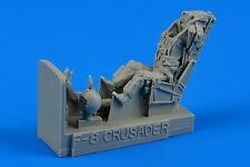 Aires 480075 n 1/48 F8E/H/J/K Crusader USN Fighter Pilot w/Ejection Seat