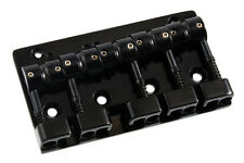 NEW Gotoh Quick Release 5 String Bass Bridge J510SJ-5 BLACK - Made in Japan