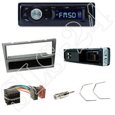 Caliber RMD021 Autoradio + Opel Astra G/Corsa Blende alu + ISO Adapter + Set
