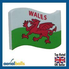REDUCED...Wales Cymru Flag Welsh Car Aerial Ball Antenna Topper
