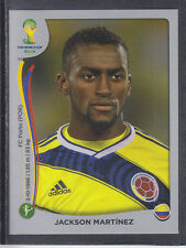 Panini - Brazil 2014 World Cup - # 201 Jackson Martinez - Colombia - Platinum