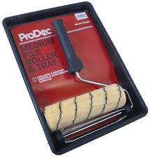 "ProDec 9"" x 1.75"" Emulsion Roller Kit Paint Frame Tray & Sleeve Refill PRRT007"