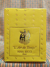 Vintage 1950-60s L'Air du Temps Nina Ricci 1/4 oz 7.5 ml Pure Parfum OLD FORMULA