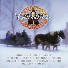 Country Christmas Legends by Various Artists (CD, 2001, Green Hill Productions)