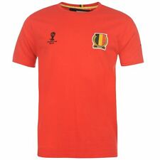 FIFA Belgium Core T Shirt Mens XL rrp £11.99 box7220 S