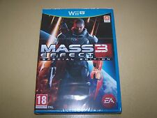 Mass Effect 3 Special Edition Nintendo Wii U **New & Sealed**