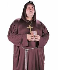 Monk Costume Robe Mens Friar Tuck Medieval - Big and Tall XL Plus Size - Fast