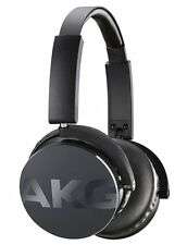 AKG Y50 Black On-Ear Headphones Headset In-Line One Button Universal Rimote Mic