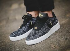 Nike Lab AF1 Air Force 1 Ultra Flyknit Low QS Quai 54 Black White Oreo UK Size 8