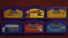 Mixed Lot of 6 LeapFrog Leapster Games - Purple Cartridge - Lot 1