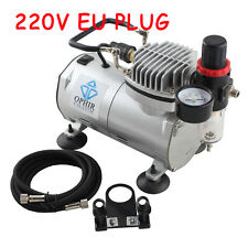 OPHIR 220V  Mini Air Compressor for Airbrushing Tattoo Hobby Cake Decoration