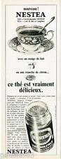 PUBLICITE ADVERTISING 095  1968   NESTEA   thé soluble NESTLE