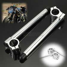 22MM Clip-on Motorcycle Handlebars Fit Yamaha RZ-350 XS-400 750 TZ-350 35MM