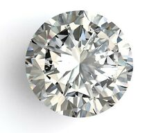 2.48 Carat H Color Loose Diamond Round 100% Natural Certified Huge Ring 8.50 mm