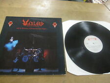 Warlord - And the cannons of destruction have begun Vinyl