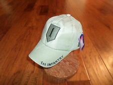 U.S.MILITARY ARMY 1ST INFANTRY DIVISION HAT EMBROIDERED MILITARY BALL CAP