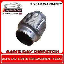 Alfa Romeo 147 1.9JTD 2001-2009 Replacement Exhaust Flex Flexi For Front Pipe
