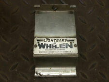 PAIR of Whelen Lightbar Siren Light Bar Mounting Bracket Strap 61221 CHEAP RARE