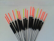 HAND MADE POLE FISHING FLOATS - RIZOV RF74 - 18 PCS. - 3x 0.2/0.3/0.4/0.6/0.8/1