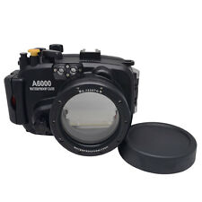 Mcoplus 40m/130ft Waterproof Underwater Camera Housing Case for Sony A6000