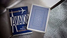 AVIATOR BLUE DECK OF PLAYING CARDS USPCC POKER SIZE MAGIC TRICKS CARD GAME HOBBY