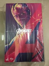 Hot Toys MMS 296 Avengers Age of Ultron AOU Vision 12 inch Action Figure NEW