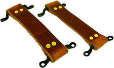 1920's,1930's Chevrolet Chevy Ford Hot Rod Brown Leather Door Strap Set USA