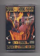 PHENOMENON - The game... love it or leave it SEALED cassette Alabama G-funk Rap