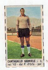Figurina da Ritaglio -CORRIERE DEI PICCOLI ANNO 1966 SPAL CANTAGALLO