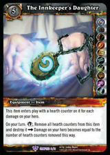 WOW WARCRAFT TCG THRONE CRAFTED : THE INNKEEPER'S DAUGHTER X 3