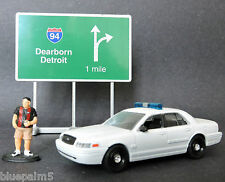 Winross 1/64 Street Sign I 94 Dearborn/Detroit (all metal) LOOSE