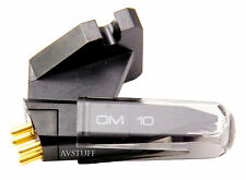 Brand New Ortofon Magnetic Cartridge with OM10 Elliptical Stylus Mounting Screws