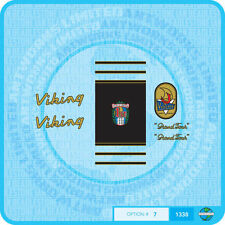 "Viking ""Grand Tour"" - Bicycle Decals Transfers - Stickers - Set 7A"