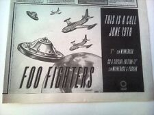 FOO FIGHTERS This Is A Call 1995 UK Press ADVERT 12x8""