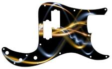 P Bass Precision Pickguard Custom Fender 13 Hole Guitar Pick Guard Abstract 9