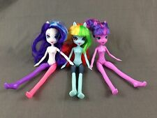 My Little Pony Equestria Girls 3 Dolls Rainbow Dash Rarity Twilight Sparkle