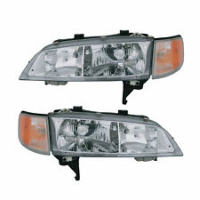 1994 1995 1996 1997 HONDA ACCORD HEADLIGHT LAMP LIGHT PAIR RIGHT AND LEFT SET