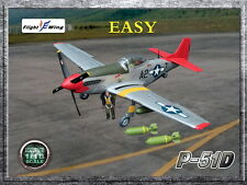 """Flight Wing WWII US Army Air Force P-51D """"EASY"""" MUSTANG Fighter Plane 1/18"""
