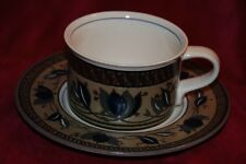 Mikasa Intaglio Arabella: FLAT CUP with SAUCER