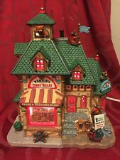 LEMAX Christmas Village BERNIE'S TEDDY BEARS Lighted House SIGNATURE COLLECTION