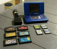 Nintendo DS Original Console System Blue Bundle Lot NTR-001 TESTED! GAMES! KIDS!